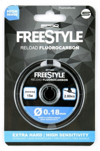Freestyle Reload Fluorocarbon 15mtr