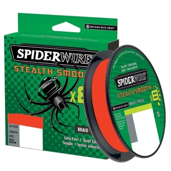 Spiderwire Stealth Smooth x8 Rood 150mtr