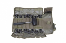 Supertough Bivvy Peg & Mallet Set