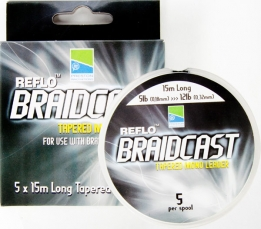 Braidcast Tapered Mono Leader