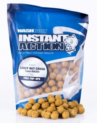 Nash Instant Action Candy Nut Crush 20mm - 1KG