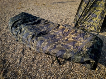 Solar Undercover Camo Thermal Bedchair Cover