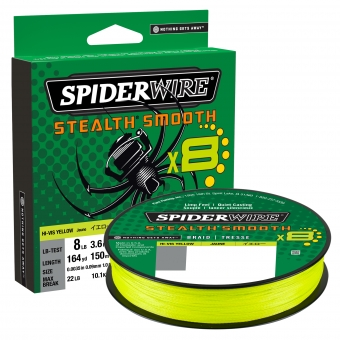 Spiderwire Stealth® Smooth Geel